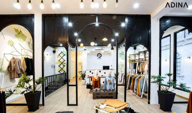 Nhận diện thương hiệu thời trang qua không gian bán hàng