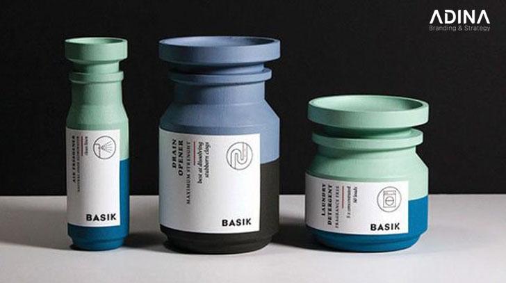 Bao bì hiện đại tạo nên vẻ đẹp sang trọng cho sản phẩm (Nguồn: Behance/Saana Hellsten)