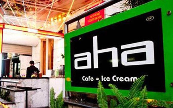 Bộ nhận diện thương hiệu AHA cafe