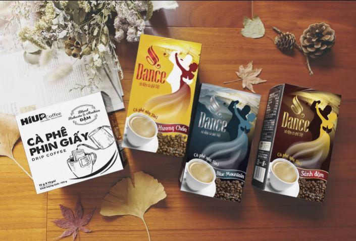Nhận diện thương hiệu An Thái Dance Coffee qua bao bì sản phẩm