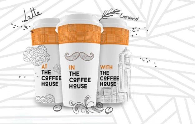 Nhận diện thương hiệu qua bao bì bên ngoài sản phẩm cafe