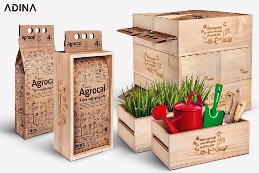Bao bì làm từ gỗ là một xu hướng thịnh hành hiện nay