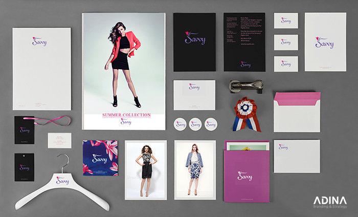Bộ nhận diện thương hiệu Thời trang