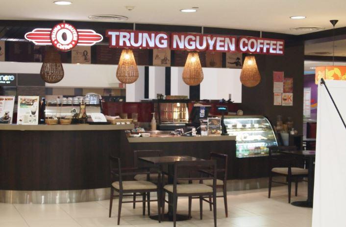 Đặc trưng thiết kế chuỗi quán cafe Trung Nguyên