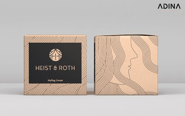 Mẫu thiết kế lấy ý tưởng từ những sợi tóc (Nguồn: Behance/Robinsson Cravents)
