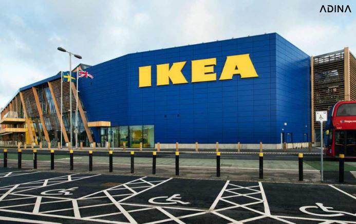 Bộ nhận diện thương hiệu tập đoàn IKEA
