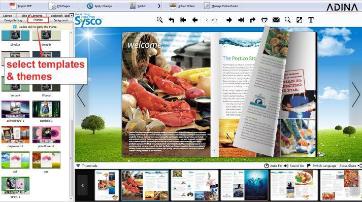 Flipbuilder - Thiết kế brochure tuyệt vời dành riêng cho MAC