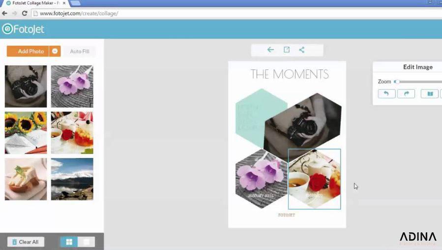 Fotojet - Trình thiết kế brochure online chuyên nghiệp