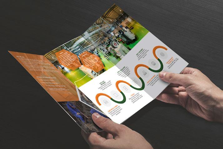 Thiết kế brochure Công ty Cơ khí VMF