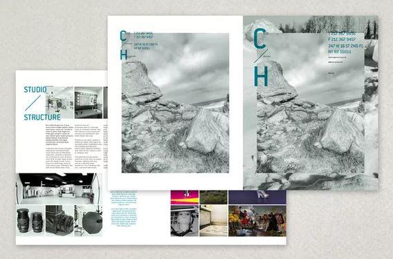 Mẫu brochure dành cho các nhiếp ảnh gia