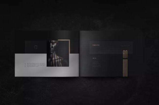 Mẫu brochure danh mục đầu tư AQua