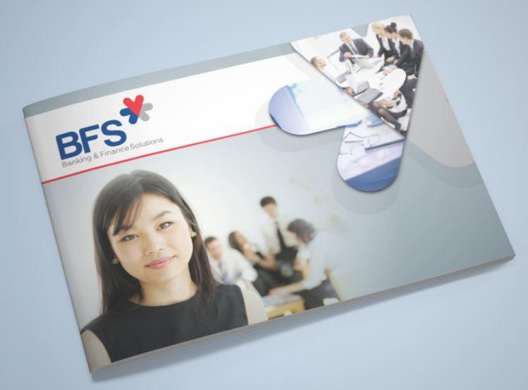 Mẫu thiết kế brochure công ty BFS