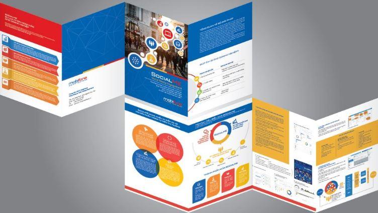 Mẫu thiết kế brochure dịch vụ SocialMe