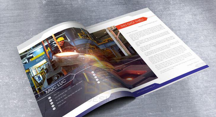 Mẫu thiết kế hồ sơ năng lực công ty cơ khí đúc Thành Long