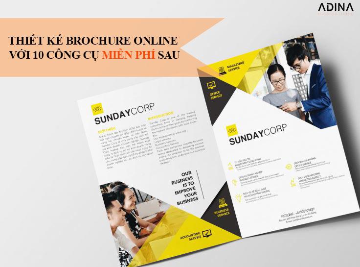 10+ công cụ thiết kế brochure online