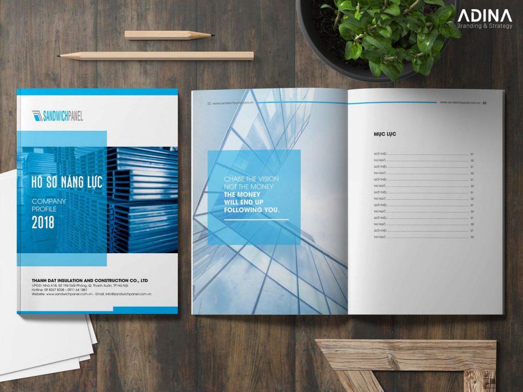 Hồ sơ năng lực công ty mới thành lập giúp nâng cao hình ảnh doanh nghiệp