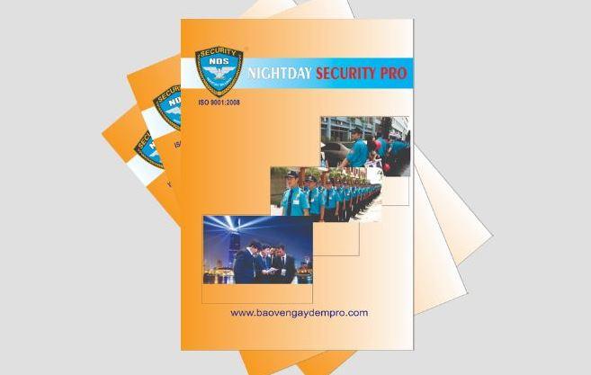 Mẫu hồ sơ năng lực dịch vụ bảo vệ NightDay (Nguồn: Internet)