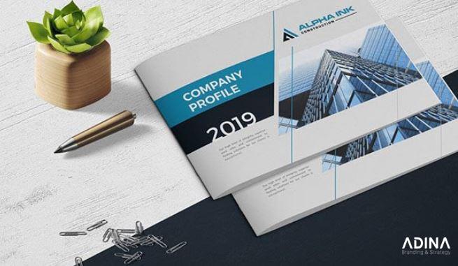 Thành phần cơ bản trong một thiết kế hồ sơ năng lực công ty sản xuất