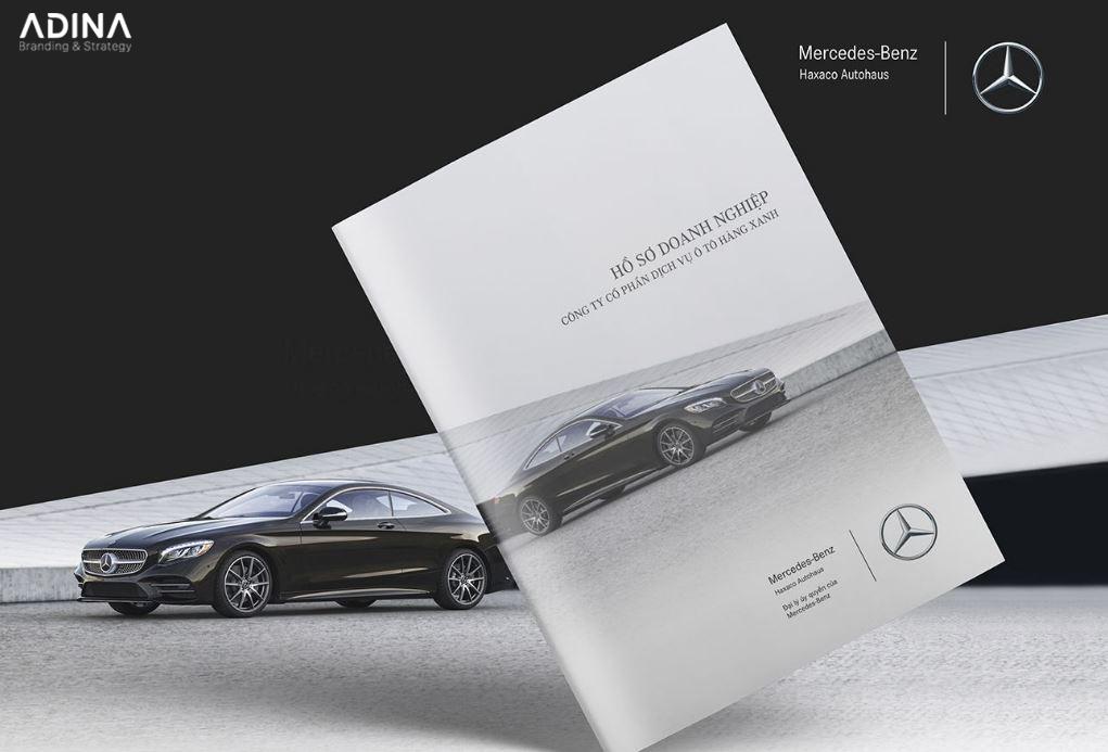 Thiết kế hồ sơ năng lực công ty ô tô Hàng Xanh Haxaco