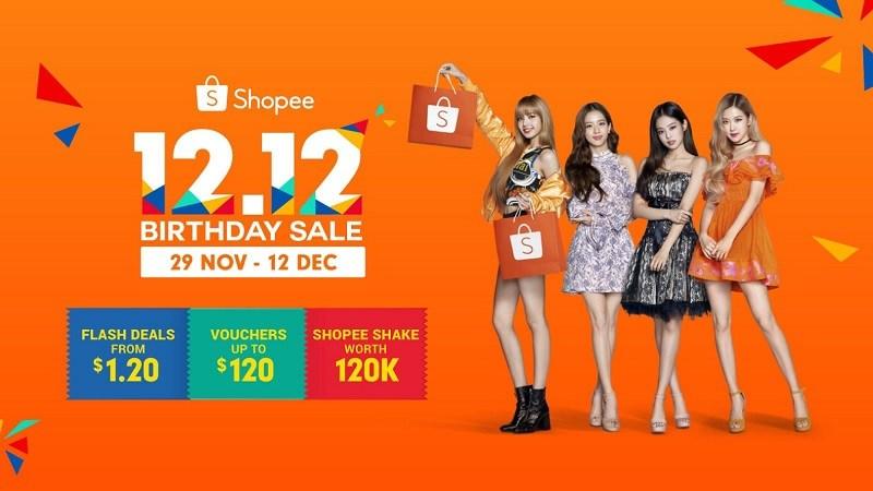 Hợp tác giữa Shopee và BlackPink