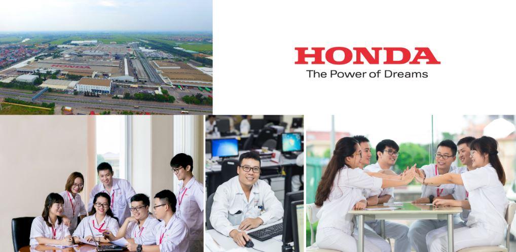 Chụp hình nhà máy Honda