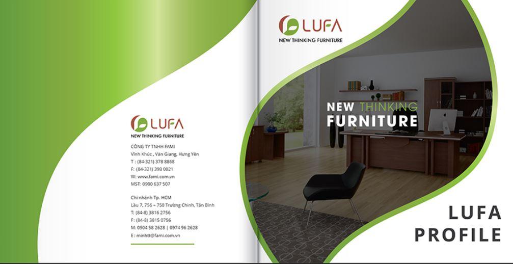 Mẫu hồ sơ năng lực công ty nội thất LUFA-FAMI