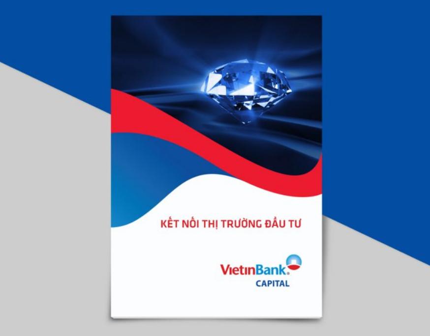 Mẫu profile đẹp giới thiệu ngân hàng Vietinbank Capital