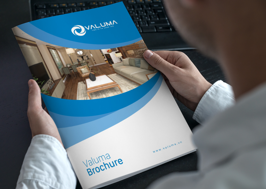 Thiết kế bìa profile công ty VALUMA