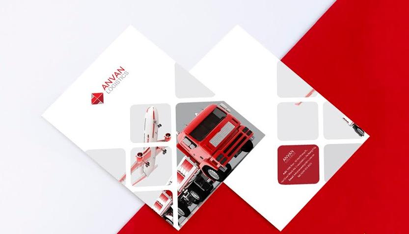 Mẫu thiết kế profile công ty ANVAN Logistics (Nguồn: Internet)