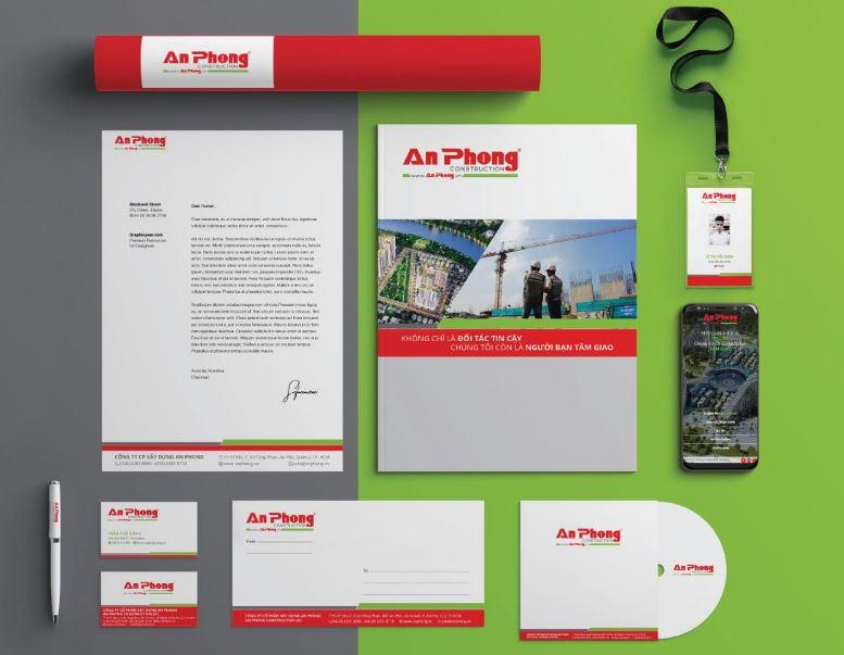 Thiết kế nhận diện thương hiệu An Phong