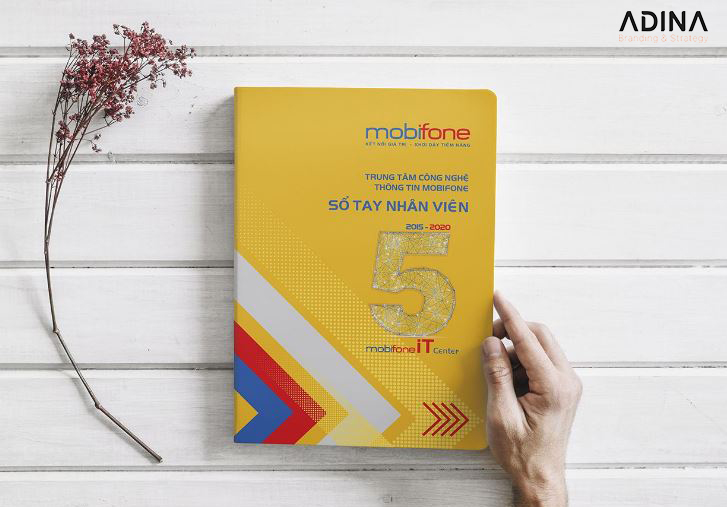 Thiết kế sổ tay MobiFone