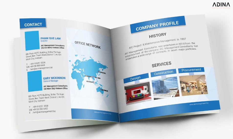 Mẫu profile đẹp giới thiệu công ty 2021
