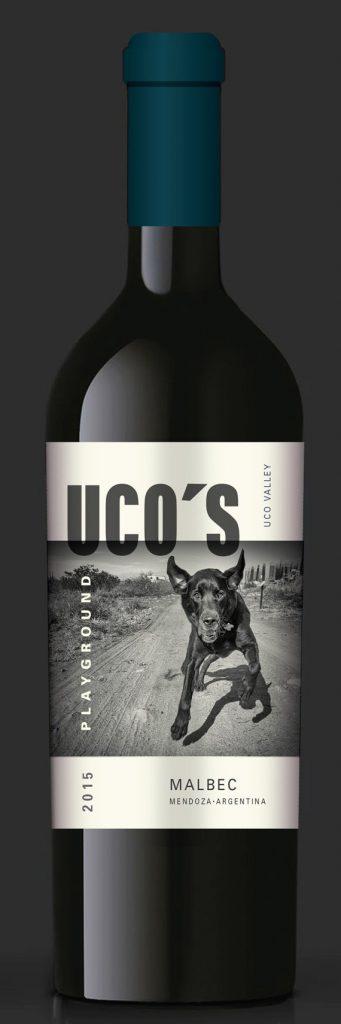 Bao bì rượu Uco nổi bật với hình ảnh của con chó đen tuyền(Nguồn: Internet)