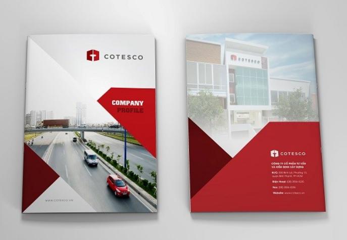 Bìa hồ sơ năng lực công ty kiểm định Cotesco (Nguồn: Internet)