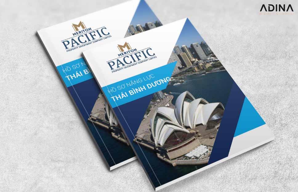 Bìa hồ sơ năng lực công ty Thái Bình Dương (Nguồn: Internet)