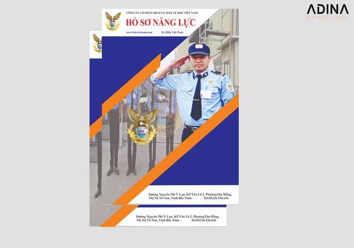 Bìa hồ sơ năng lực công ty bảo vệ BSK (Nguồn: Internet)