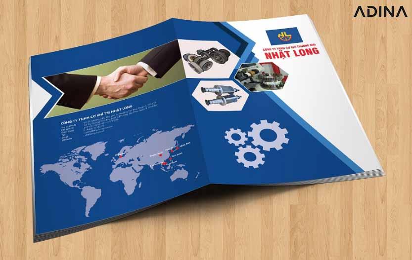 Bìa hồ sơ năng lực công ty cơ khí Nhật Long (Nguồn: Internet)