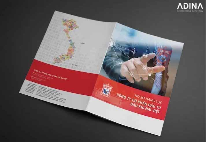 Bìa hồ sơ năng lực công ty dầu khí Đại Việt (Nguồn: Internet)