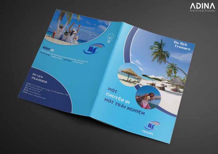 Bìa hồ sơ năng lực công ty du lịch Trasuco (Nguồn: Internet)
