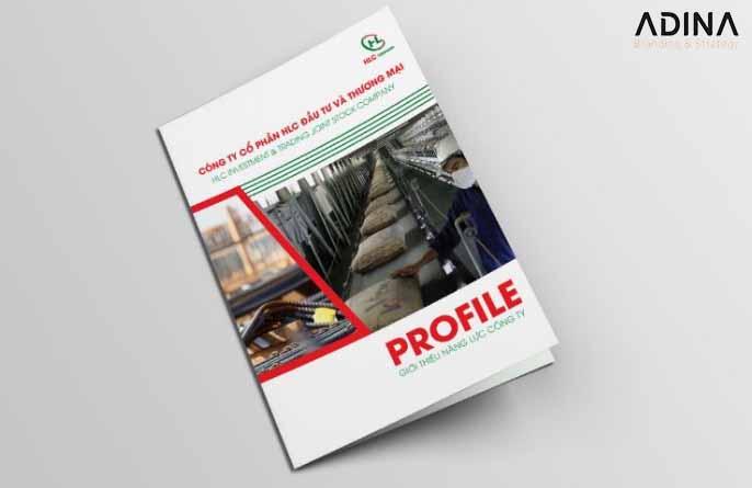 Bìa hồ sơ năng lực công ty sản xuất xi măng (Nguồn: Internet)