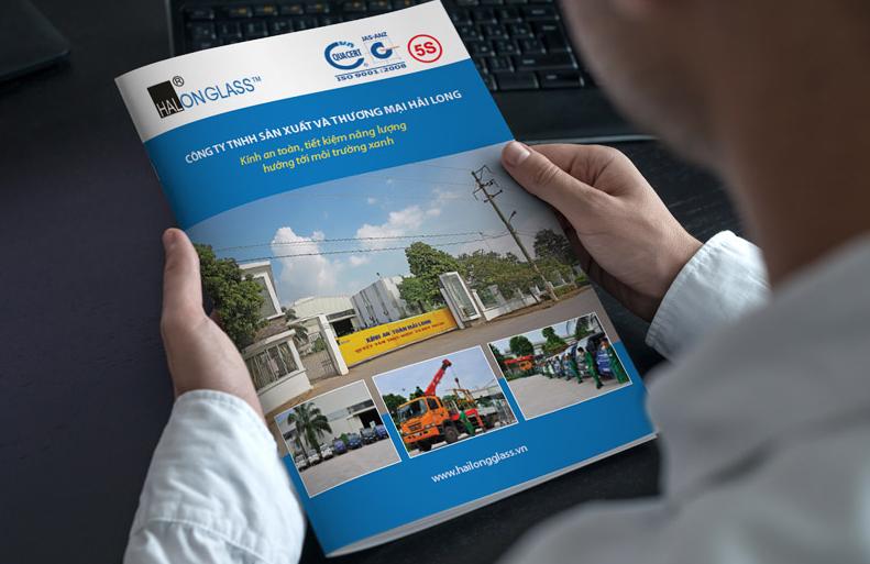Bìa hồ sơ năng lực công ty thương mại Hải Long (Nguồn: Internet)