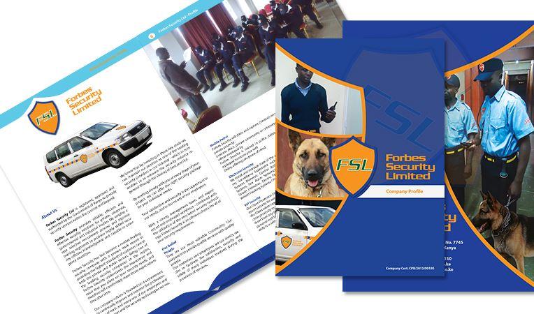 Bìa hồ sơ năng lực công ty bảo vệ FSL (Nguồn: Internet)