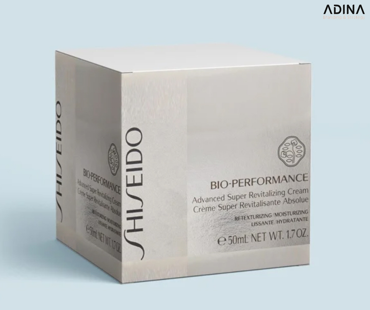 Thiết kế vỏ hộp mỹ phẩm Shiseido (Nguồn: Internet)