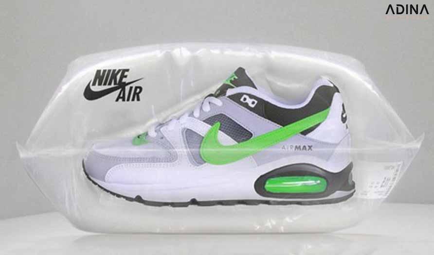 Bao bì giày Nike bên trong kín khít (Nguồn: Internet)