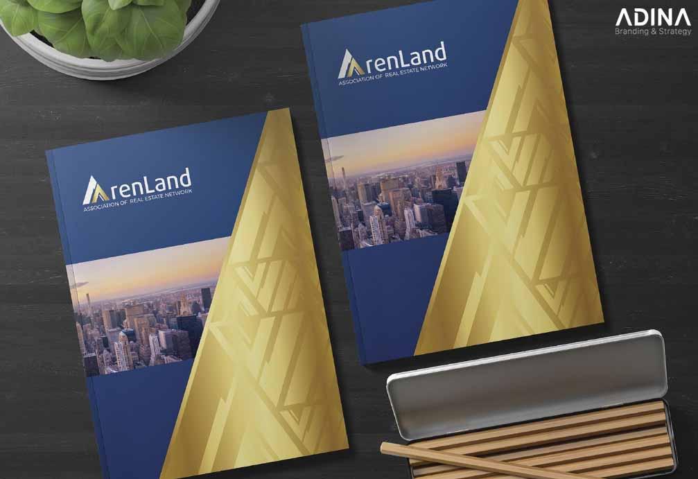 Bìa hồ sơ năng lực công ty bất động sản ArenLand
