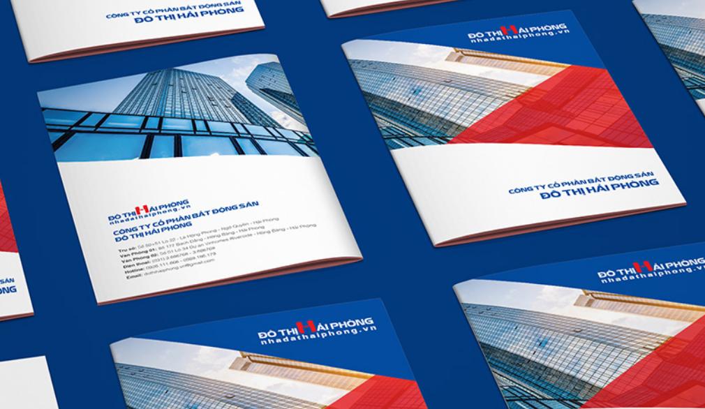 Bìa hồ sơ năng lực công ty bất động sản Đô Thị Hải Phòng (Nguồn: Internet)