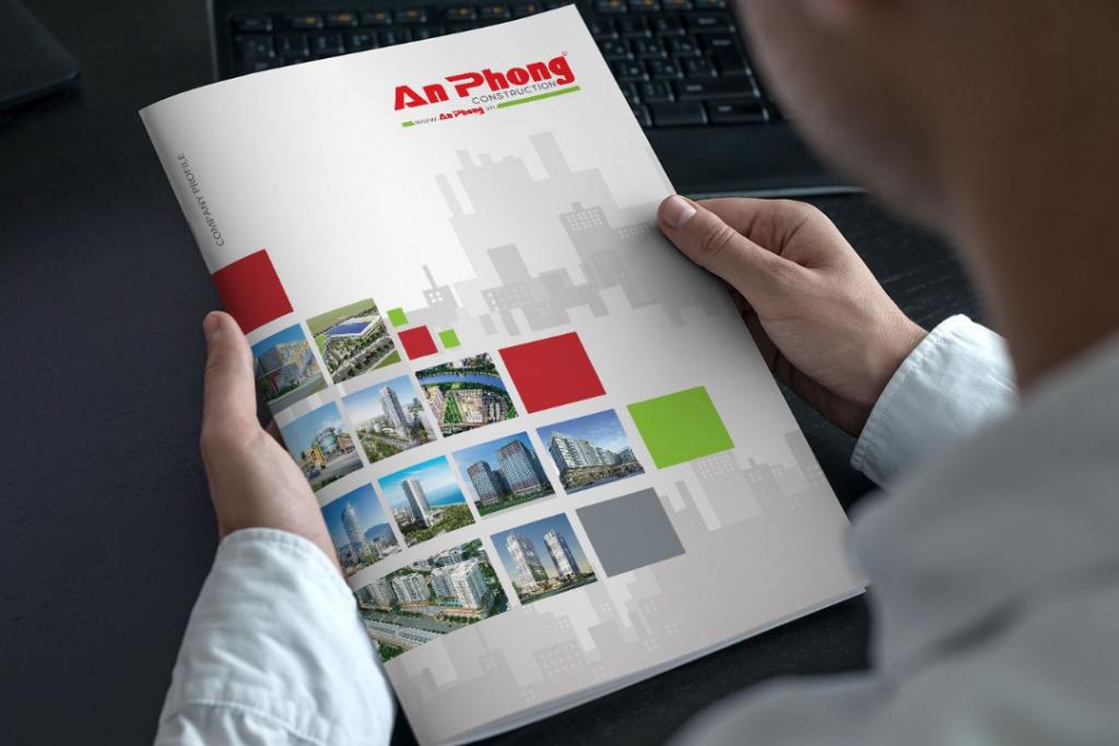 Mẫu bìa hồ sơ năng lực công ty xây dựng An Phong