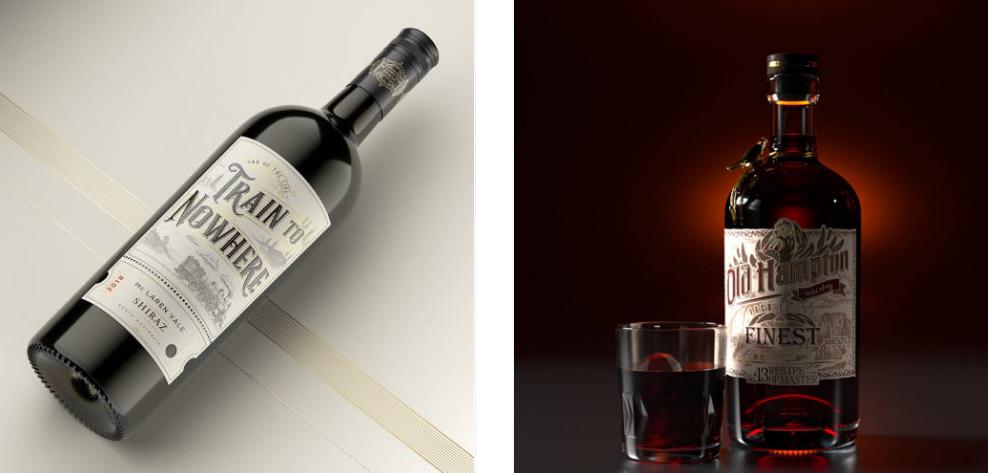 Thiết kế bao bì rượu (Nguồn: Internet)