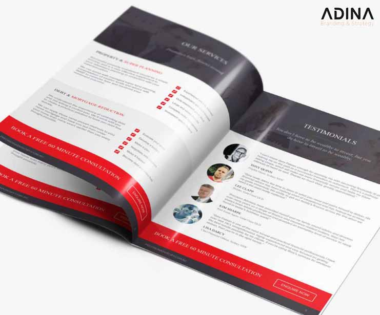 Thiết kế hồ sơ năng lực công ty in ấn
