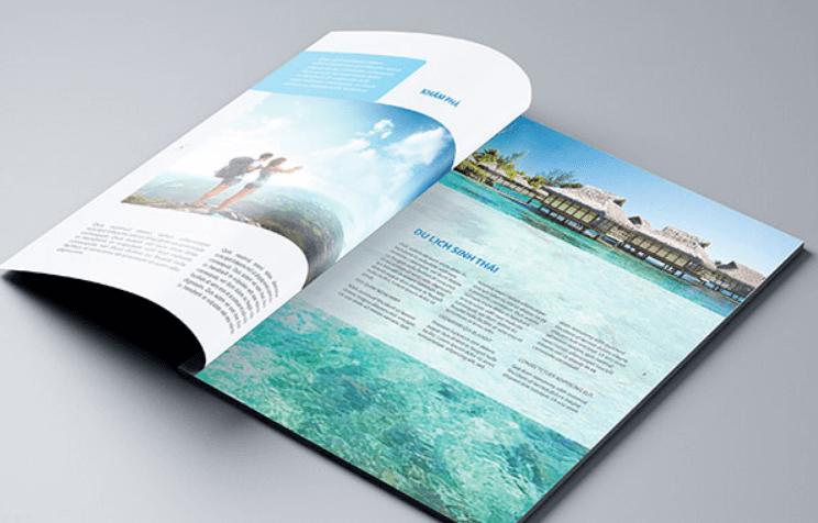 Mẫu thiết kế hồ sơ năng lực công ty du lịch Đan Nguyên (Nguồn: Internet)